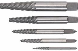 Topex Zestaw wykrętaków do zerwanych śrub M3,3 - M19 5szt. (14A110)