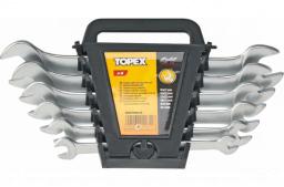 Topex Zestaw kluczy płaskich 6-22mm 8szt. (35D656)