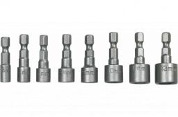 Topex nasadki wkrętaków 1/4 5-13 mm (39D387)