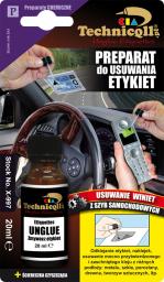 Technicqll Preparat do usuwania etykiet  20ml na blistrze P-997