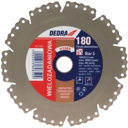 Dedra Tarcza diamentowa wielozadaniowa VACUUM BRAZED 125x22,2mm H1083