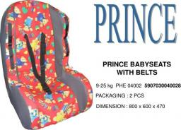Fotelik prince bez pasów 9-25kg