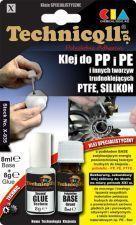 Technicqll Klej do PP,PE i PTFE 8ml+8g na blistrze /pod zamówienie/