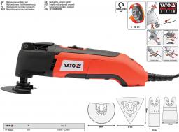 Yato Wielofunkcyjne narzędzie oscylacyjne 300W (YT-82220)