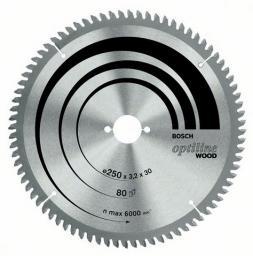 Bosch Piła tarczowa Optiline Wood 216x30x2,0mm 60z. (2.608.640.433)