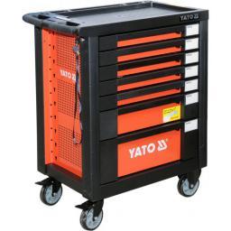 Wózek narzędziowy Yato 7 szuflad z wyposażeniem 211szt. (YT-55290)