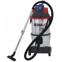 """Dedra Odkurzacz DED6602 z filtrem wodnym do pyłu gipsowego i podłączenia z """"żyrafą"""" 1400W (DED6602)"""