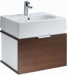 Zestaw szafka z umywalką Koło Twins 50cm biały + wenge (L59026000)