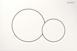 Przycisk spłukujący Geberit Sigma 01 do WC biały (115.770.11.5)