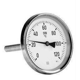 Afriso Termometr bimetaliczny Ø 63mm - 63801