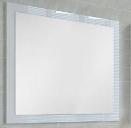 Lustro Elita Itaka 75x70cm biały połysk (164760I)