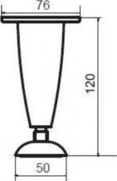 Cersanit Nóżka do mebli 4szt. (S599-0023)