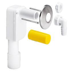 Syfon do pralki i zmywarki Viega podtynkowy DN40/50 biały (452452)