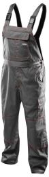 NEO Spodnie robocze na szelkach r.L/52 (81-430-L)