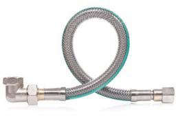 Famas Przyłącze elastyczne do gazu z kolanem 200cm (FPGS-04KB)
