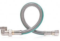 Famas Przyłącze elastyczne do gazu z kolanem 50cm (FPGS-04KB)