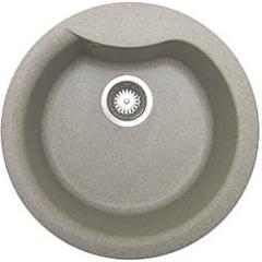 Pyramis Zlewozmywak 1-komorowy HYDRIA bez ociekacza fi 48,5cm granit piaskowy 073910701