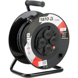 Yato Przedłużacz bębnowy 30m/4 gniazda 230V H05RR-F  3x1,5m2 (YT-81053)