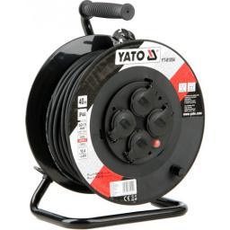 Yato Przedłużacz bębnowy 40m/4 gniazda 230V H05RR-F 3x1,5m2 (YT-81054)