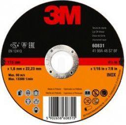 3M Tarcza Flex 41 115x1,0x22,2mm Inox cut-off wheel (DC272921024)