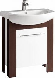Zestaw szafka z umywalką Koło Runa 65cm biały + wenge (L89001000)