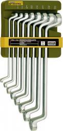PROXXON Zestaw kluczy oczkowych odgiętych Slim Line 6-22mm 8szt. (PR23810)