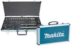 Makita Zestaw dłut i wierteł SDS-plus 10szt. w walizce (D-42385)