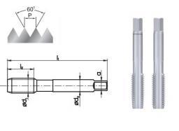 FANAR Gwintownik ręczny M8x1 2szt. (A1-120001-0083)