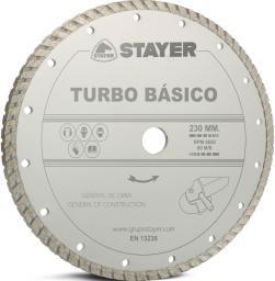 Stayer Tarcza diamentowa 115x22,2mm Turbo Basico (STA-D115TB)