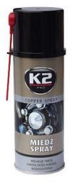 K2 Wysokotemperaturowy smar miedziany 400ml - W122