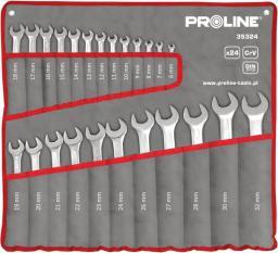 Proline Zestaw kluczy płasko-oczkowych 6-32mm 24szt. (35324)