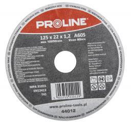 Proline Tarcza do cięcia stali kwasoodpornej T41 115x1,2mm A60S - 44011