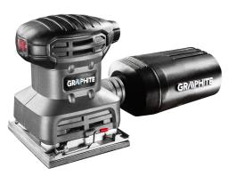 GRAPHITE Szlifierka oscylacyjna 220W 104x112mm (59G320)