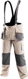 NEO Spodnie robocze na szelkach 6w1 r.XL/56 (81-320-XL)