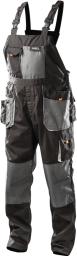 NEO Spodnie robocze na szelkach r.XL/56 (81-240-XL)