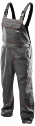 NEO Spodnie robocze na szelkach r.L/54 - 81-430-LD
