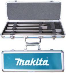 Makita Zestaw dłut SDS-Max płaskie i szpicaki 4szt. w walizce (D-42466)