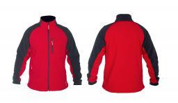Lahti Pro Bluza polarowa czerwona rozmiar XXXL (LPBP13XL)