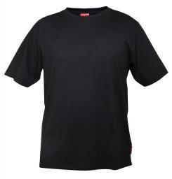 Lahti Pro Koszulka bawełniana T-shirt czarna rozmiar XXXL L4020506