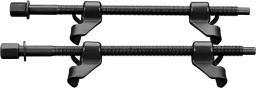 NEO Ściągacze do sprężyn 300mm 2szt. - 11-807