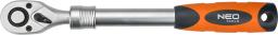 """NEO Grzechotka z uchwytem teleskopowym 1/2"""" 305-445mm (08-515)"""