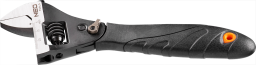 NEO Klucz nastawny typu szwed 200mm gumowa rękojeść (03-017)