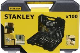 Stanley Komplet wierteł w mocnej kasecie 100szt. (STA7205)