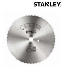 Stanley Piła tarczowa do drewna 130x16mm 80z. - STA10005