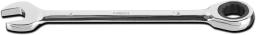 NEO Klucz płasko-oczkowy z grzechotką 19mm (09-068)