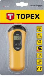 Topex Odległościomierz ultradźwiękowy 0.4-18m (31C902)
