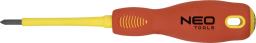 NEO Wkrętak krzyżowy 1000V PZ0x60mm - 04-061