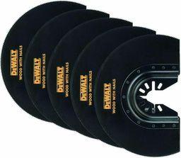 Dewalt DEWALT Akcesoria do oscylacyjnego narzędzia wielofunkcyjnego (Brzeszczot do cięcia wgłębnego - 100 mm (5 szt.)) - DT20729-QZ