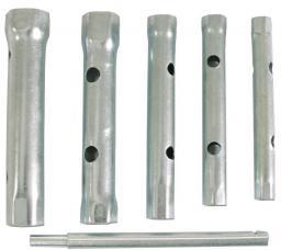 MEGA Zestaw kluczy rurowych dwustronnych 8-17mm 6szt. (36206)