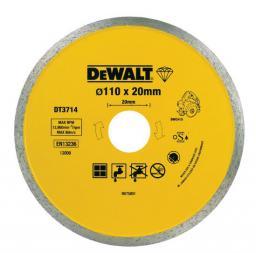 Dewalt Tarcza diamentowa 110x20mm ciągła do DWC410 (DT3714)